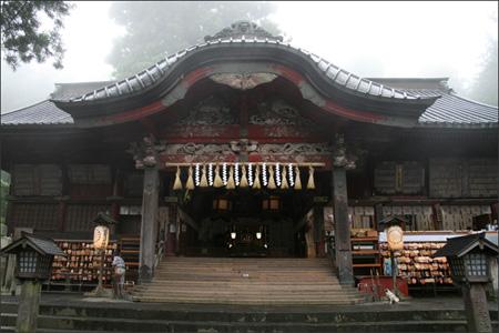 富士山登山の無事を願って参拝しました。