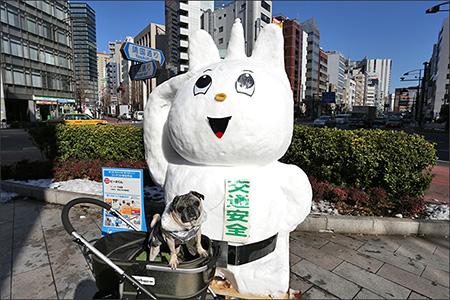 日本の警察力を結集して作り上げられたピーポ君。