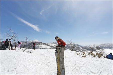 山頂からは360度の眺望が楽しめます。